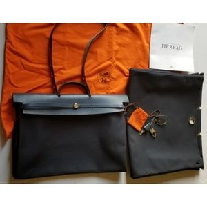 Authentic Hermes convertible  large bag